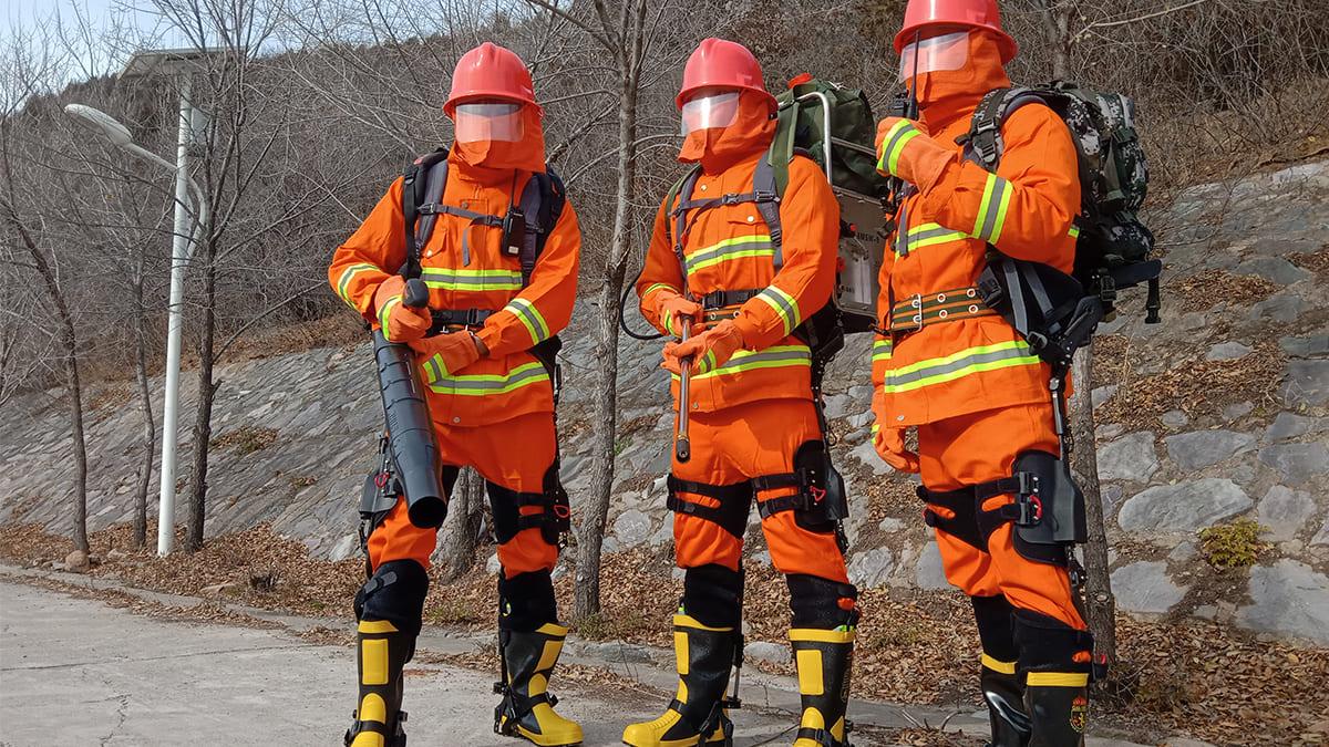 В Китае разработали экзоскелет для переноса грузов и удобного перемещения по лесам и горным склонам