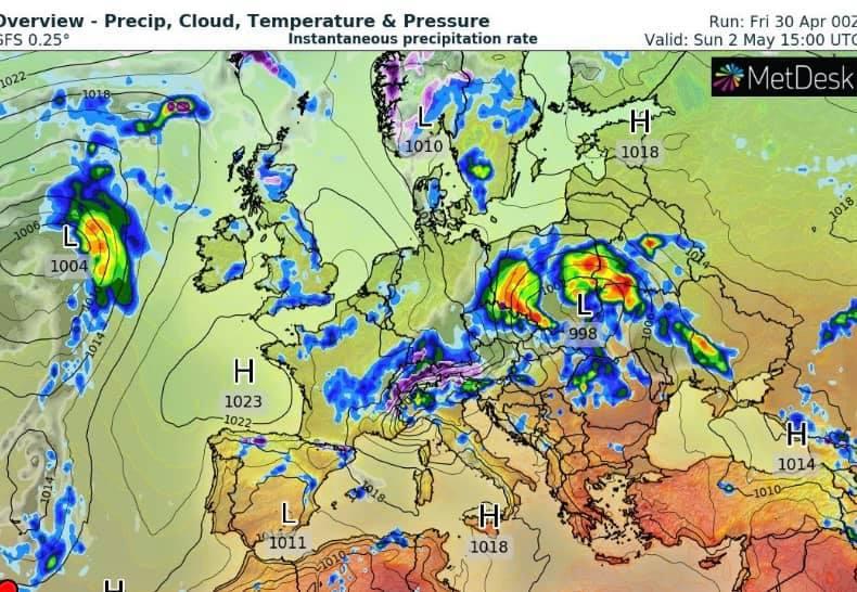 Какой будет погода в Украине на майские праздники, фото-2