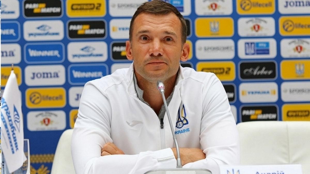 Андрей Шевченко огласил расширенный список сборной Украины на Евро-2020