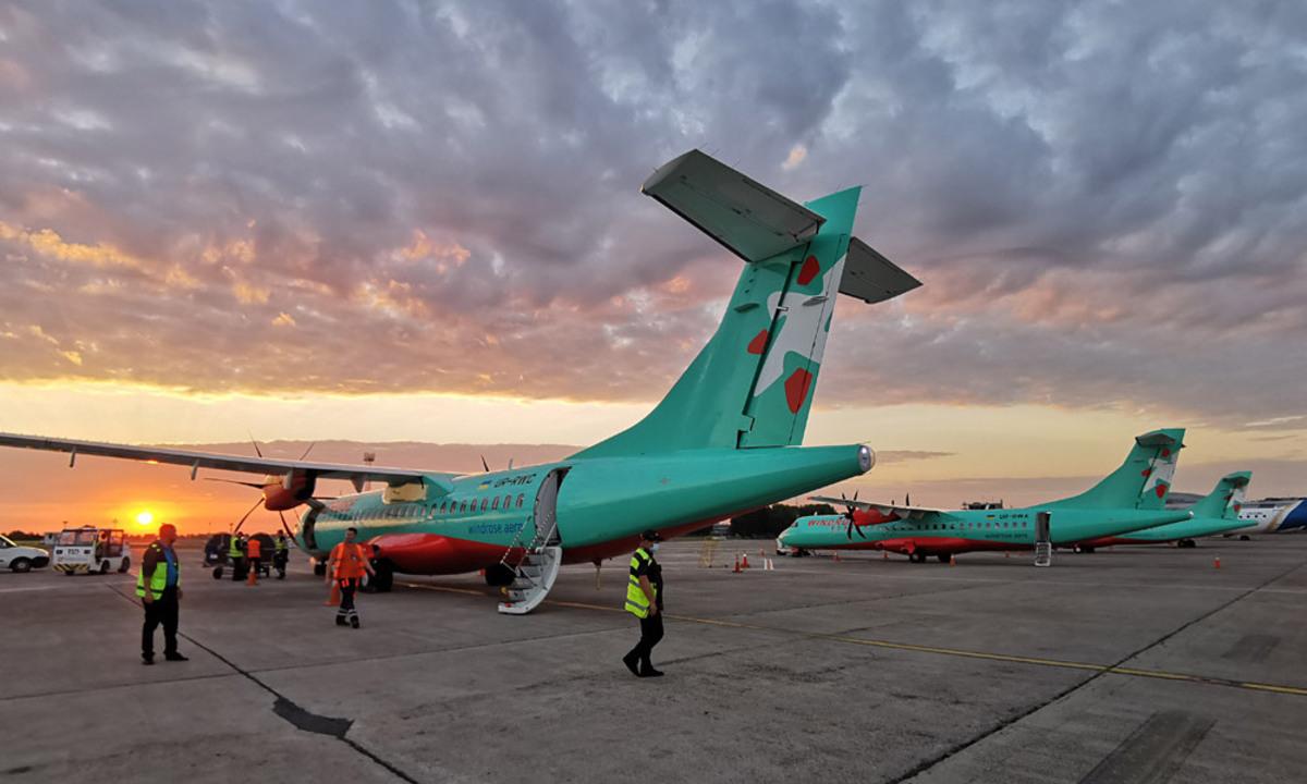 Стало известно, во сколько украинцам обойдутся полёты Киев — Ужгород на лоукостере «Роза Ветров»