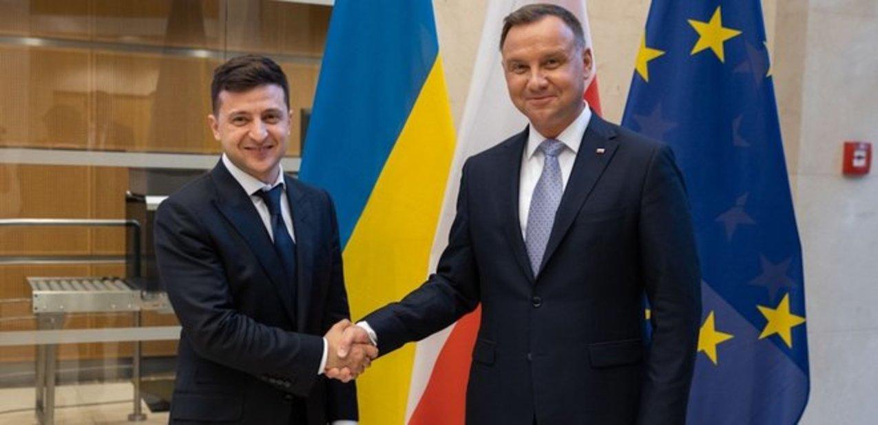 Зеленский подписал с Дудой декларацию о европейском будущем Украины