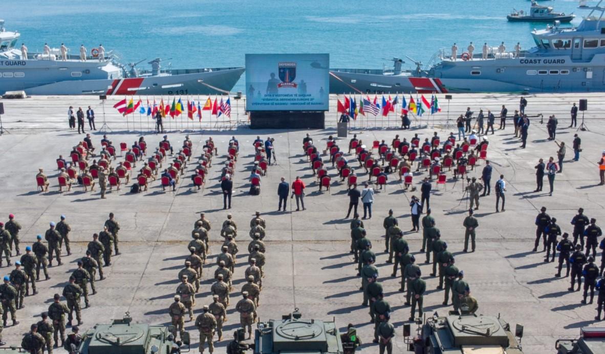В Албании стартовали масштабные военные учения НАТО