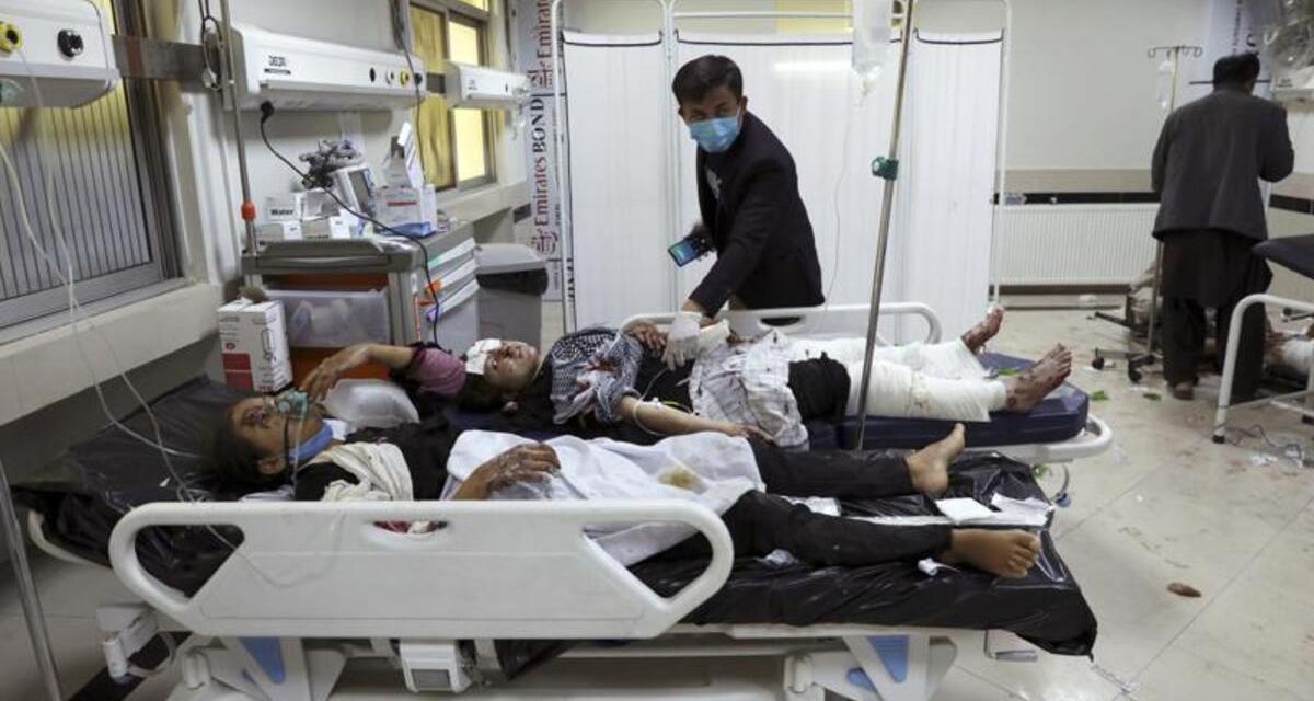 В Афганистане прогремел взрыв. Есть жертвы, среди них - дети и подростки