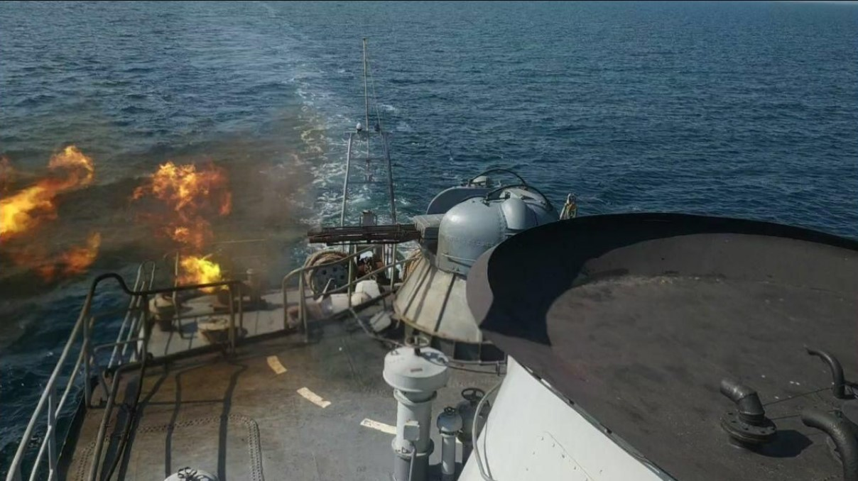 В Черном море морские десантники провели масштабные учения
