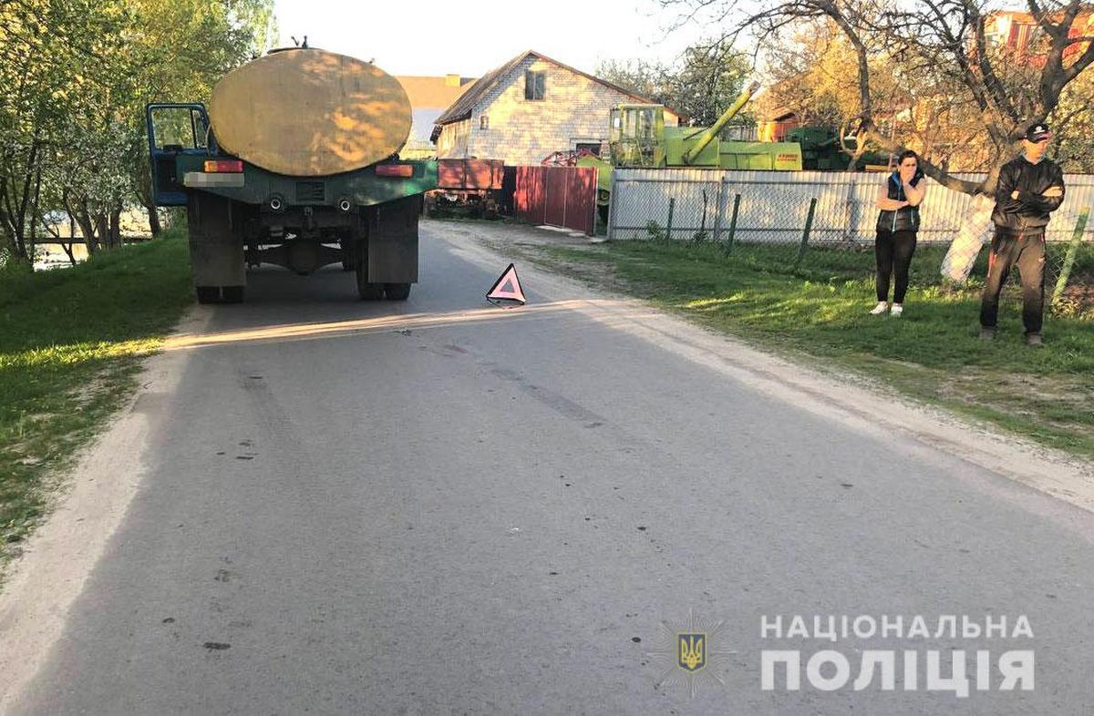 В результате ДТП в Ровно погиб ребёнок