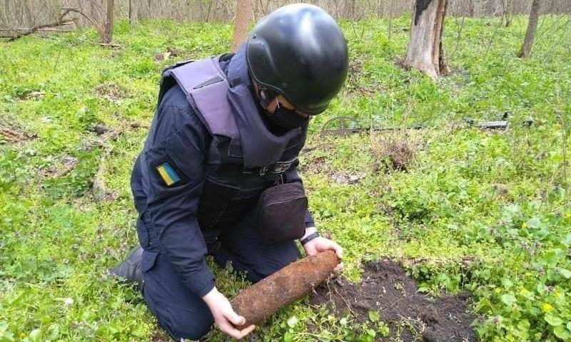 Пиротехники в ООС за неделю уничтожили порядка сотни мин и тысячи взрывных устройств