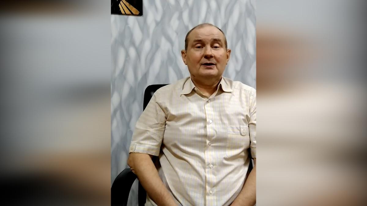 Похищенный украинский экс-судья Чаус записал видеообращение