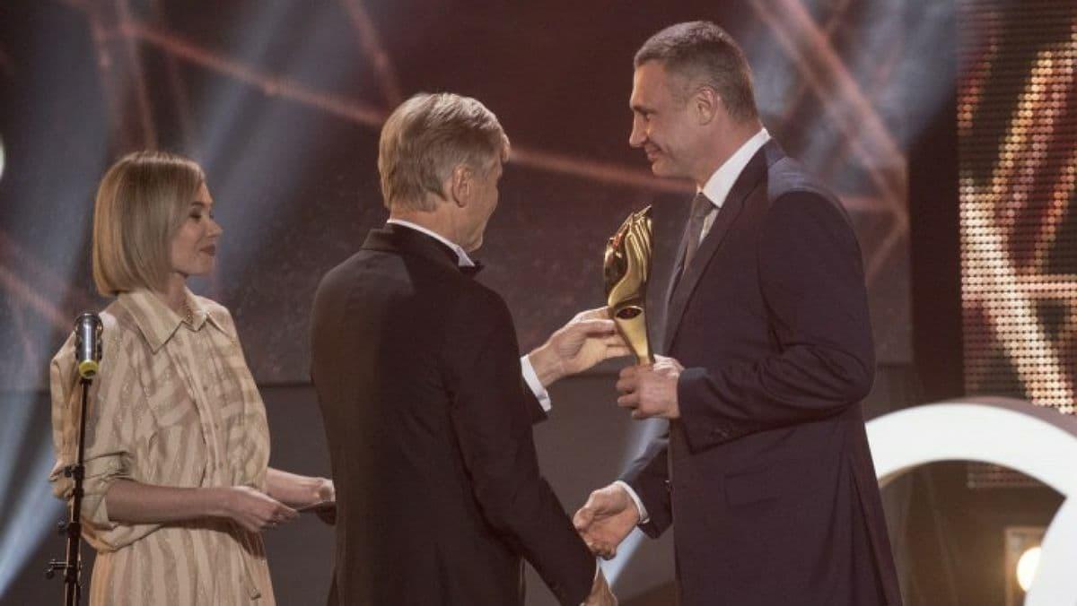 Кличко стал мэром 2020 года на премии «Человек года»