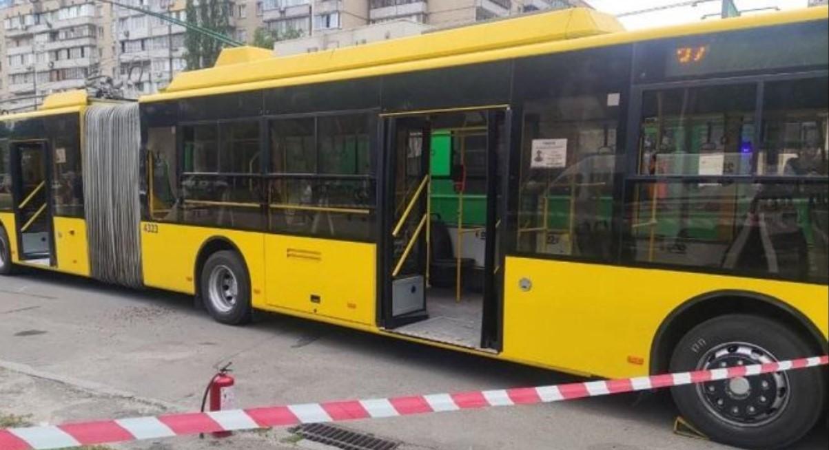 Поджигатель троллейбуса в Киеве рассказал о мотивах нападения