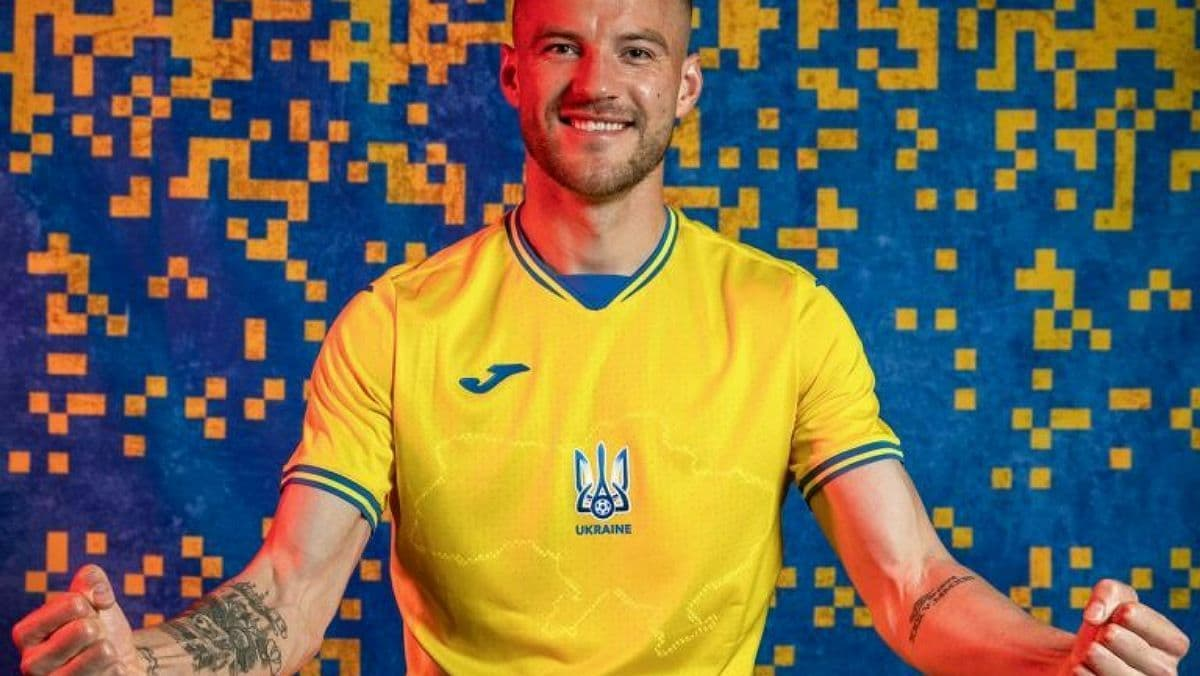 Сборная Украины представила новую форму к Чемпионату Евро-2020