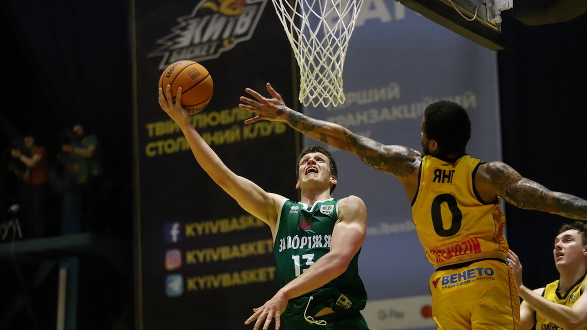 БК «Запорожье» разбил «Киев-Баскет» в решающем матче полуфинальной серии плей-офф