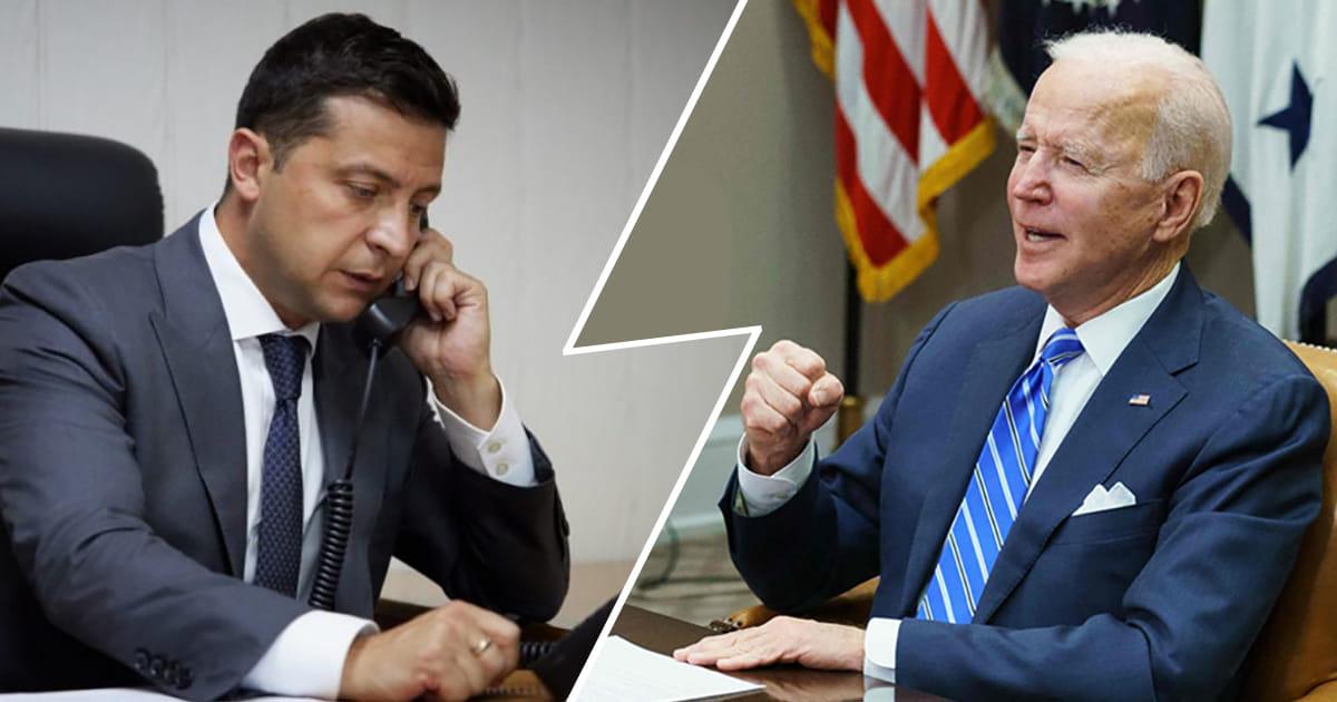 Зеленский пообщался с Байденом и заявил о необходимости ПДЧ для Украины с привязкой к датам