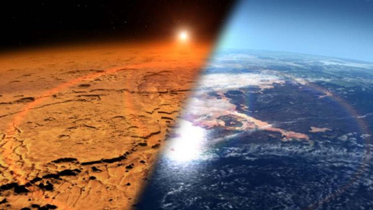 Марсианский вертолет NASA сделал на Красной планете навигационное фото и прислал его на Землю