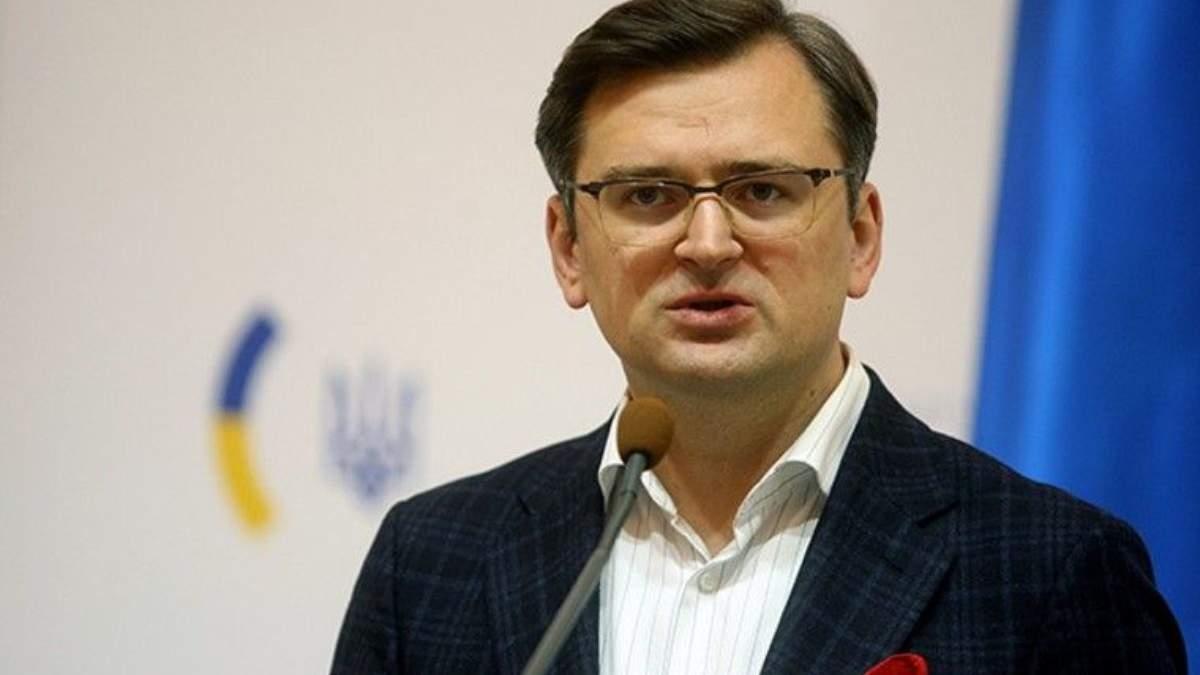 Отказ Германии поставлять оружие Украине является политическим решением — Кулеба