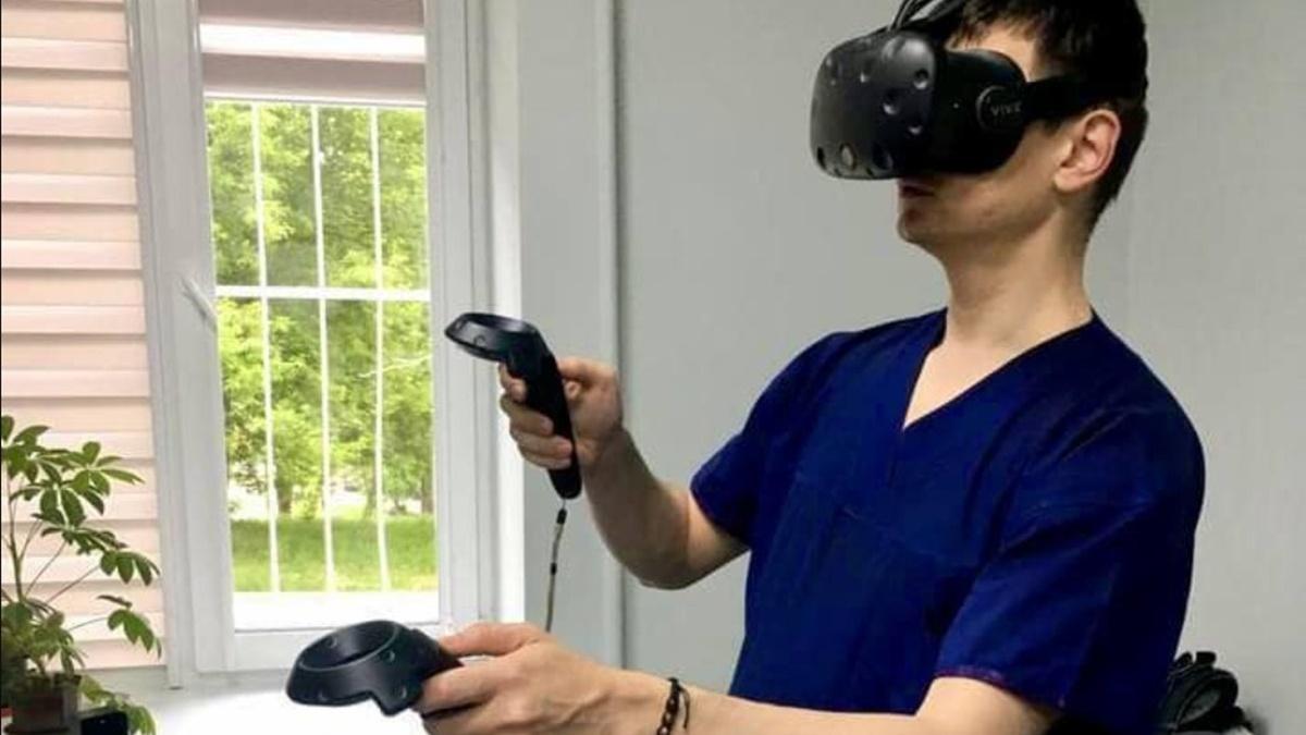 Впервые в Украине провели операцию с помощью виртуальной реальности