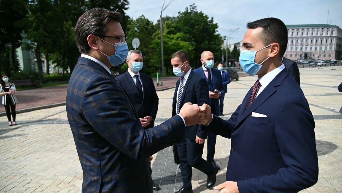 В Украину приехал министр иностранных дел Италии