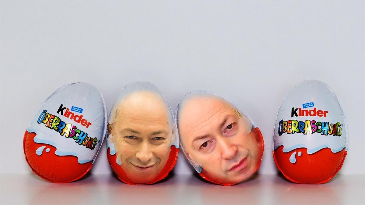 Гордон думает выпустить свой собственный киндер-сюрприз — «Яйца Гордона в шоколаде»