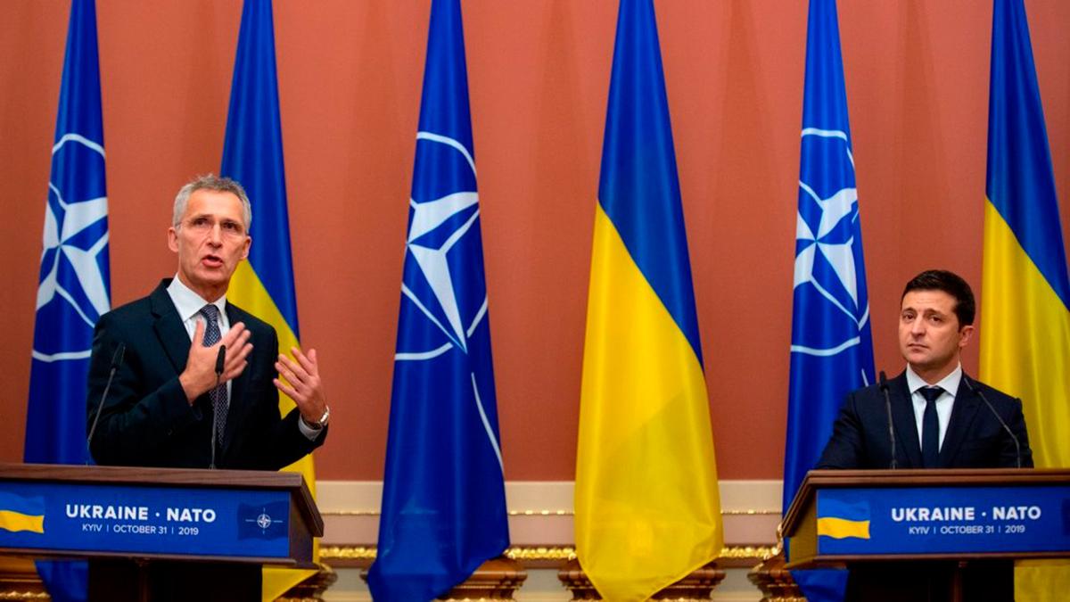 Зеленский напомнил Столтенбергу о ПДЧ для Украины перед саммитом НАТО 14 июня