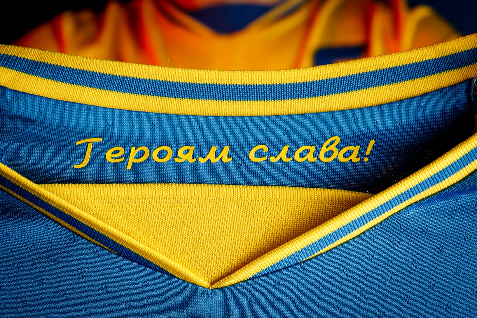 Павелко завершил переговоры с УЕФА: лозунг «Героям Слава!» оставят, но заклеят эмблемой