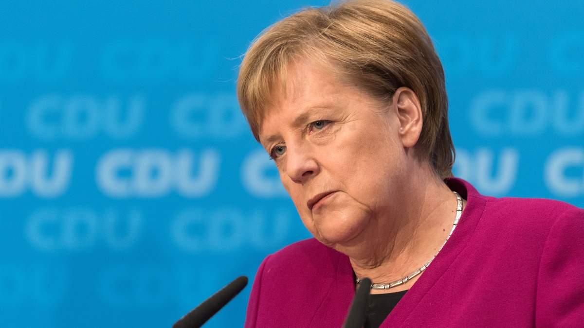 Угроза санкций против «Северного потока-2» остается в силе — Меркель