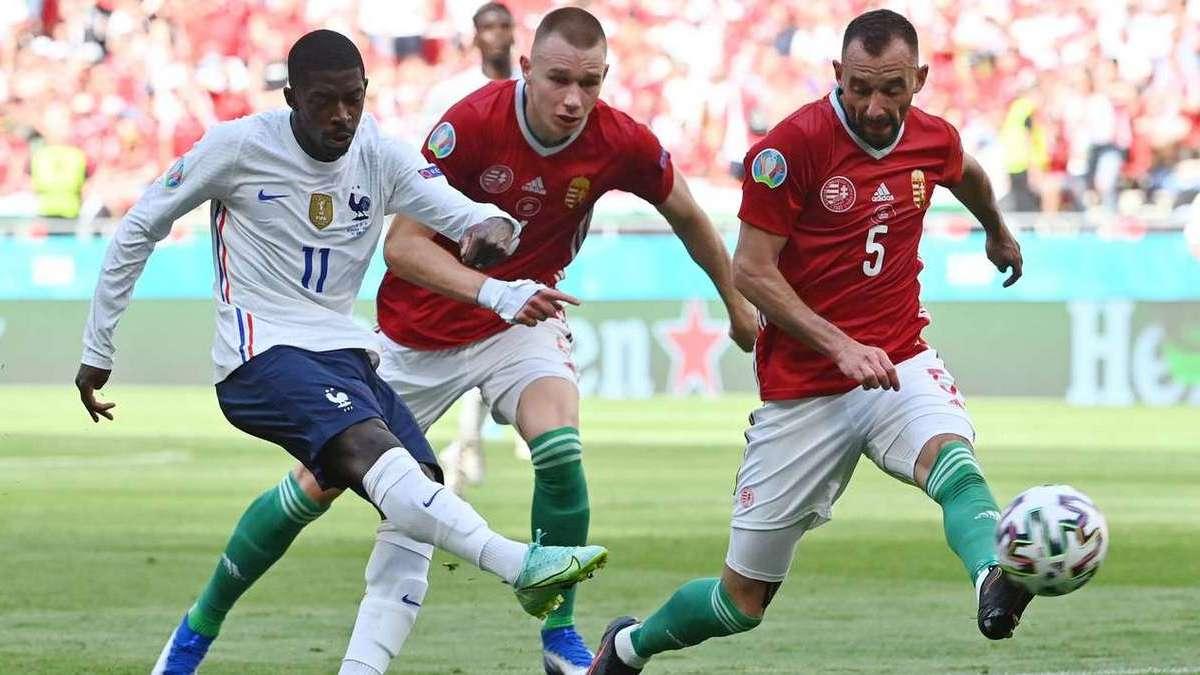 Венгрия отстояла ничью с Францией, Германия обыграла Португалию