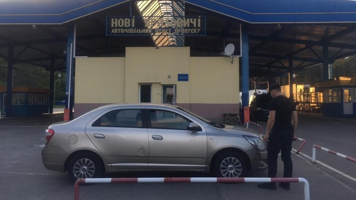 На кордоні між Білоруссю і Україною росіянин забув, де залишив машину і подав заяву про її викрадення