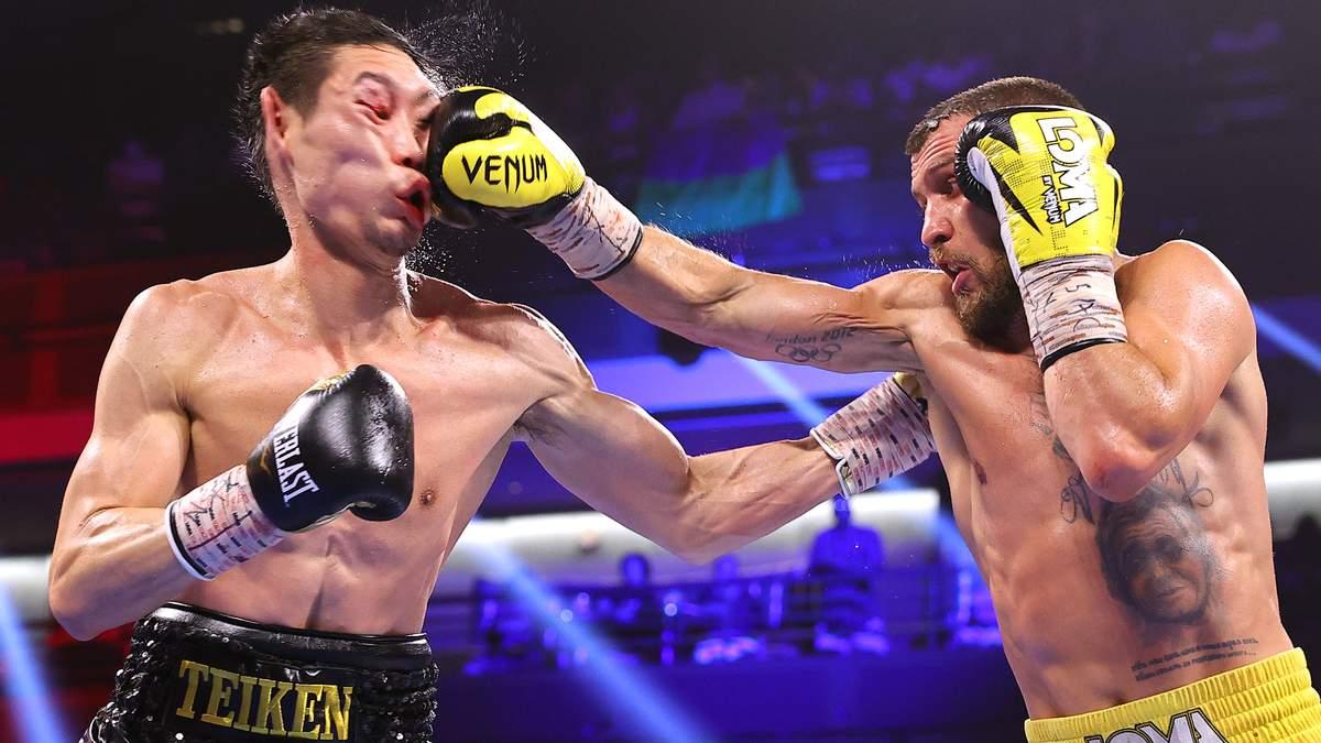 Первый бой после поражения: Ломаченко победил Накатани нокаутом