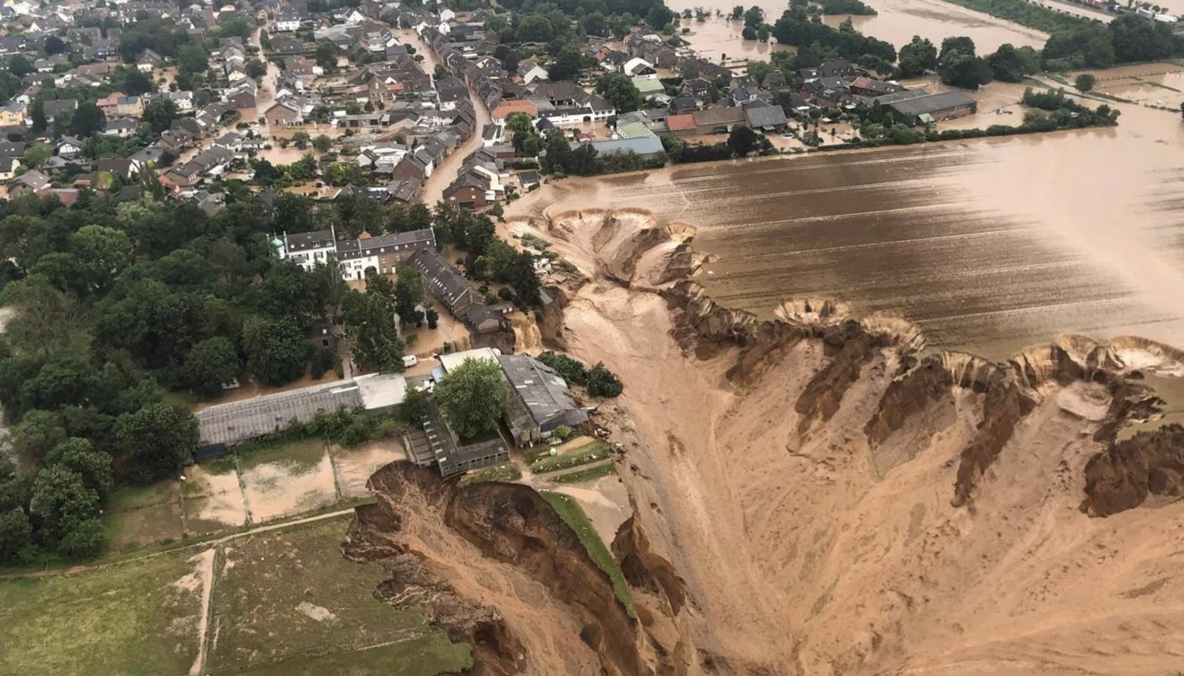 Германия оценила убытки от наводнений в 2 млрд евро