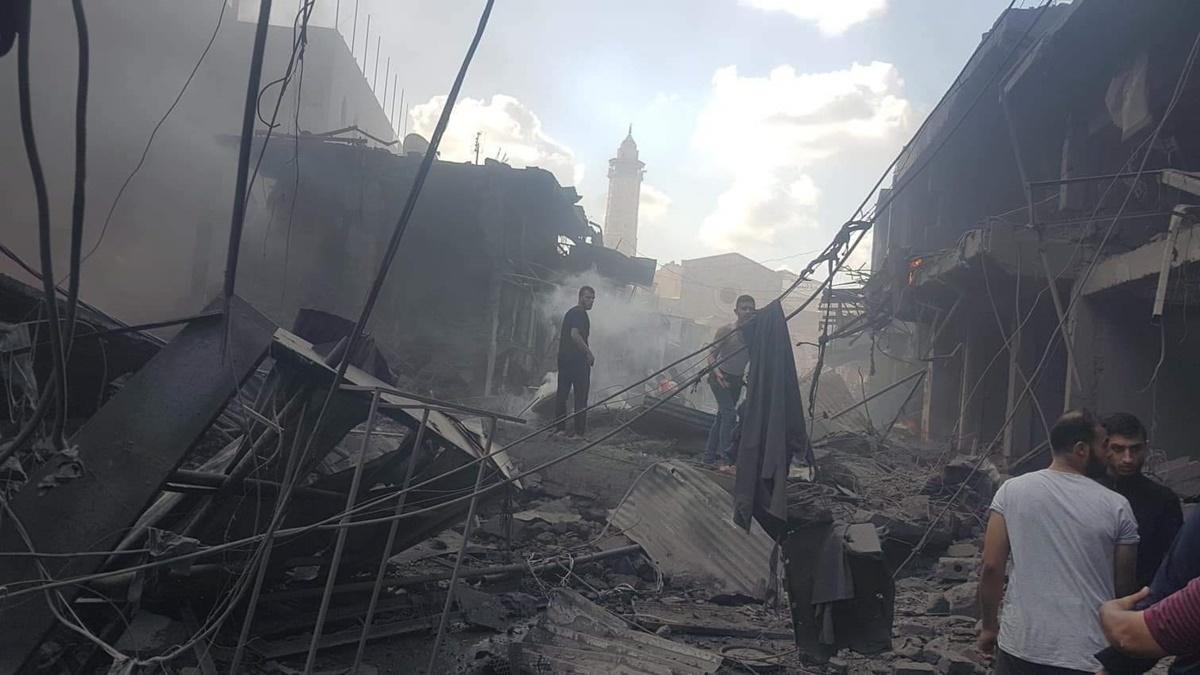 В Газе произошел взрыв на рынке: есть погибший и раненные
