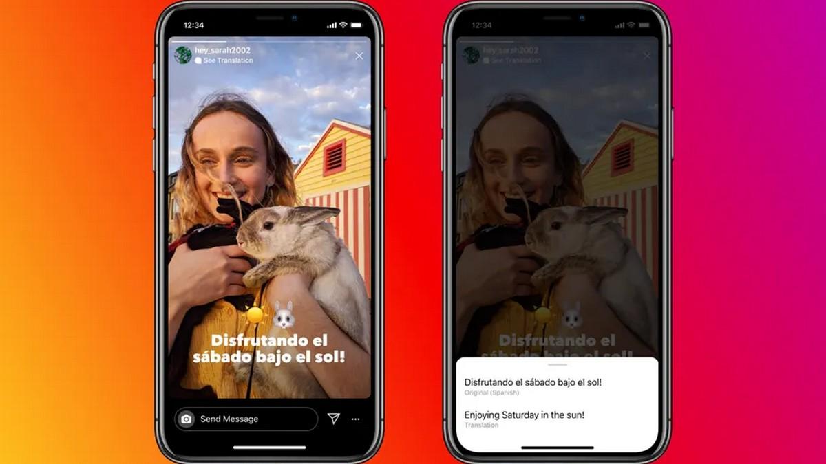 Instagram добавил функцию автоматического перевода текста в Stories