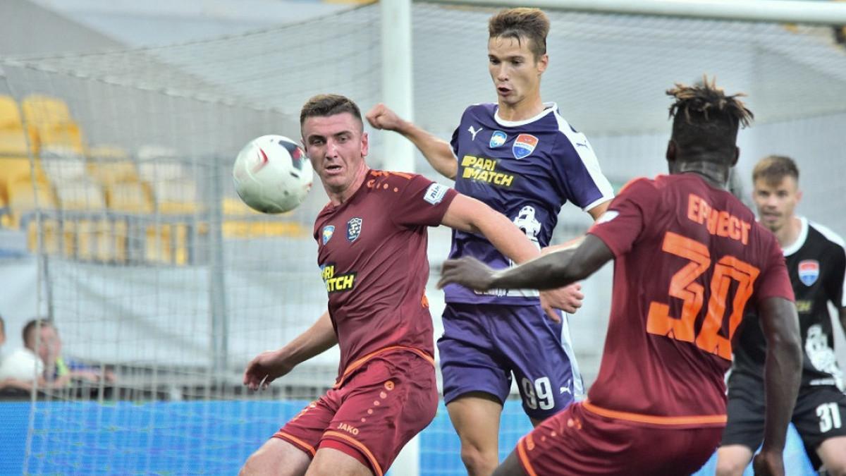 В первом матче нового сезона Украинской Премьер-лиги «Львов» и «Мариуполь» разошлись миром
