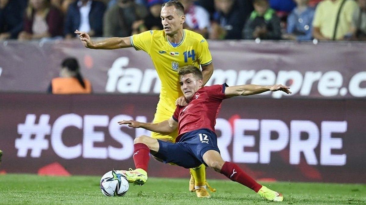 Украина в контрольном поединке со сборной Чехии упустила победу на последних секундах