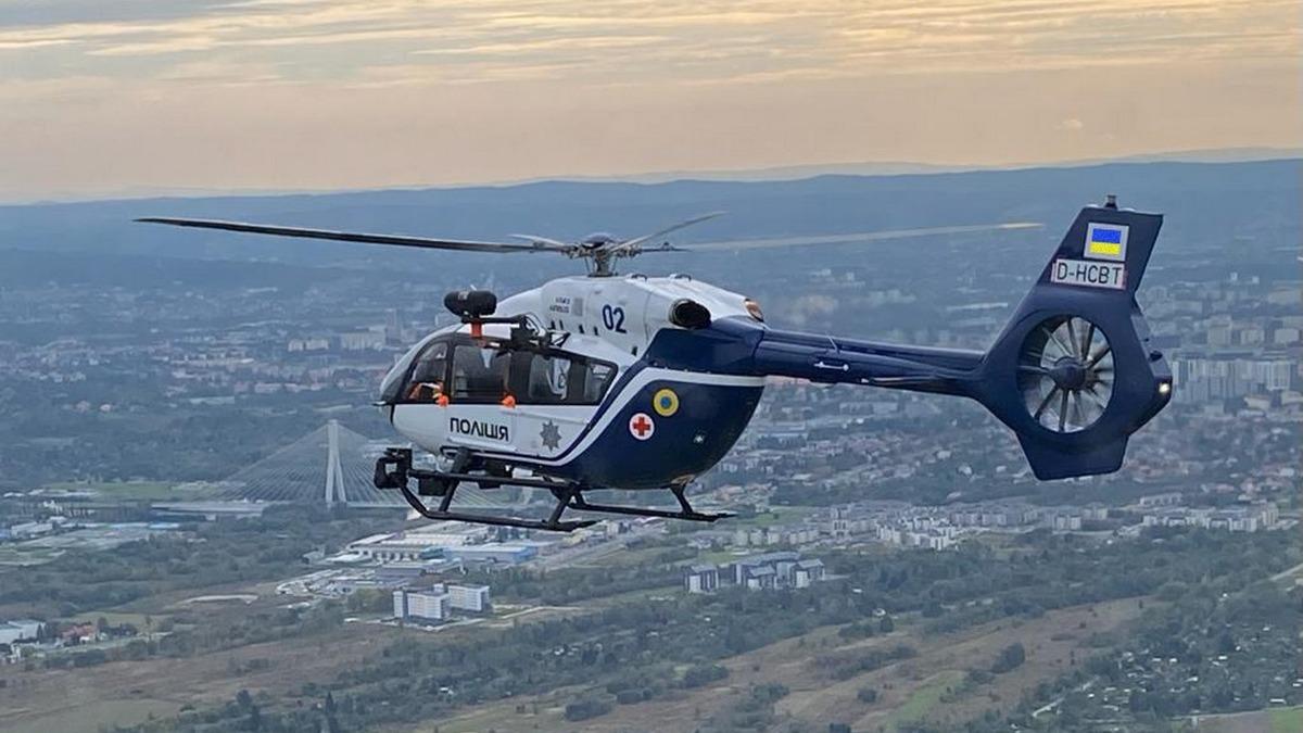В Україні до 2023 року запустять службу медевакуації вертольотами 1