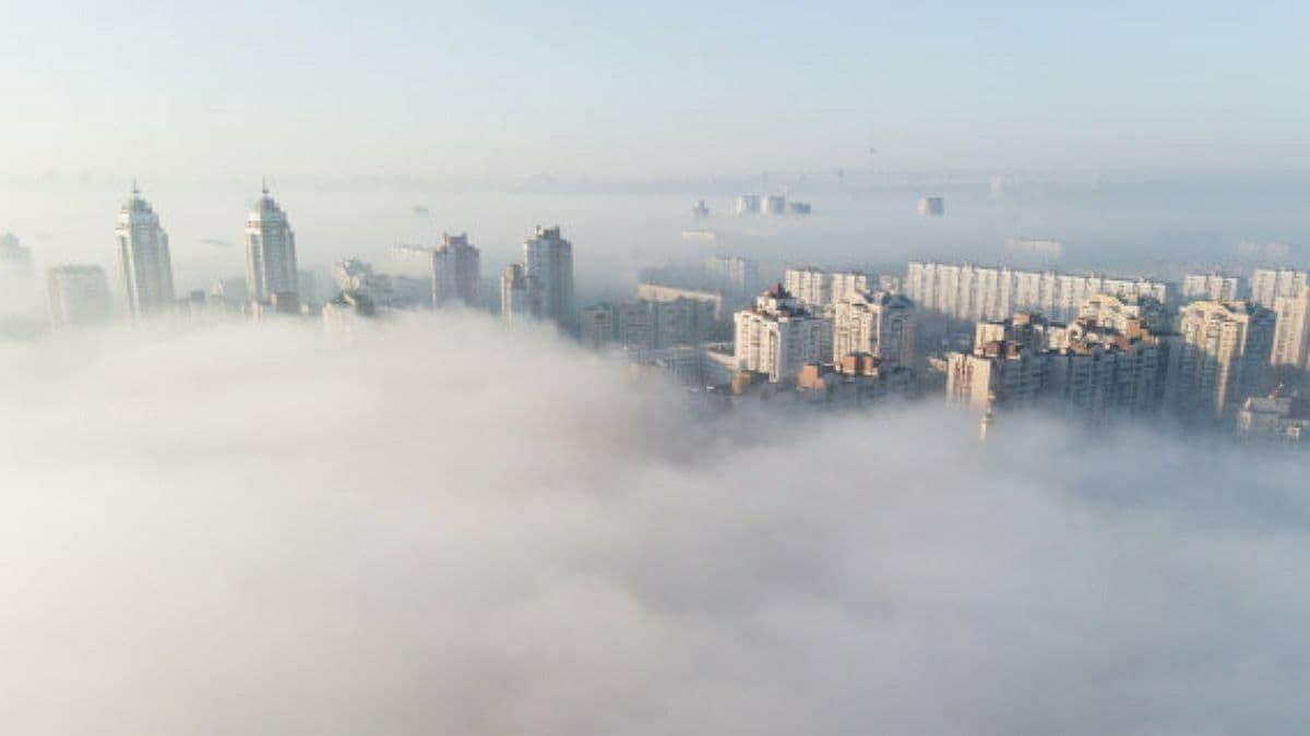 Київ знову в десятці міст з найбільш забрудненим повітрям в світі