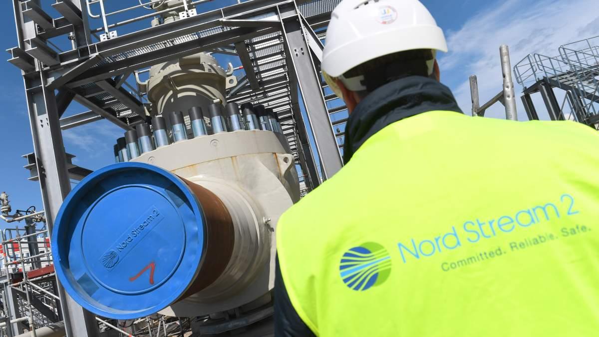 Российская компания «Газпром» объявила о завершении строительства «Северного потока-2»