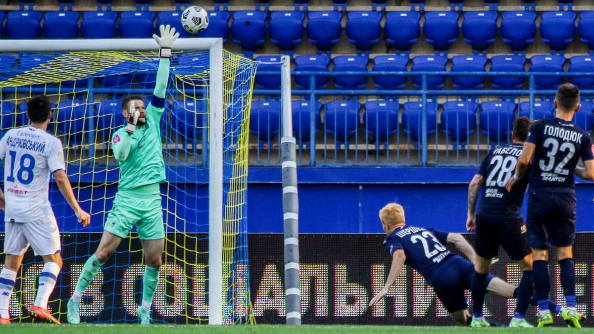 «Динамо» выиграло в Харькове, «Шахтёр» победил СК «Днепр-1», а «Заря» снова потеряла очки