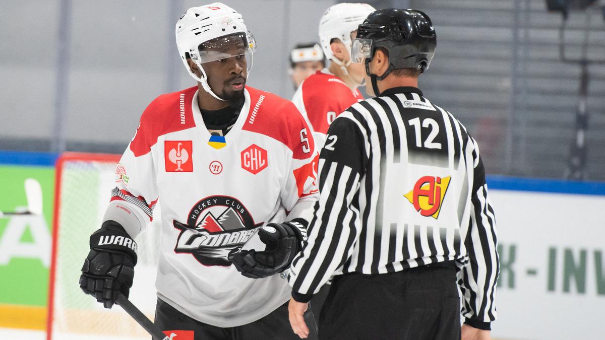 Хоккейная Лига чемпионов: «Донбасс» в овертайме проиграл чемпиону Дании