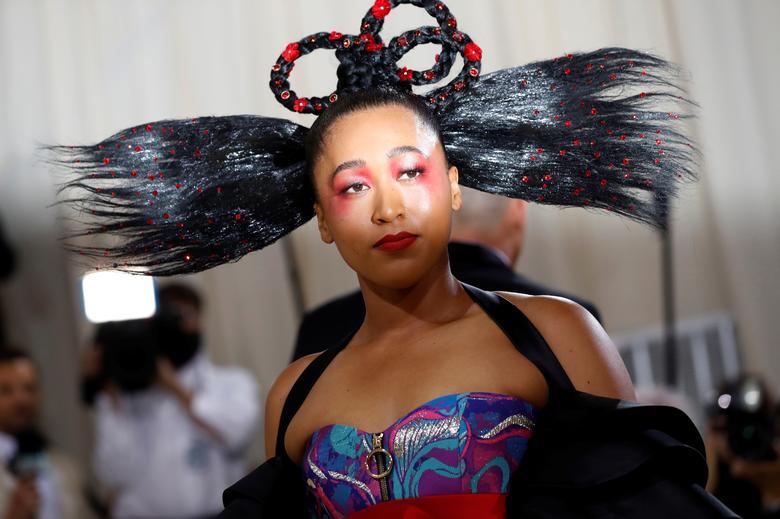 Наоми Осака в платье Louis Vuitton