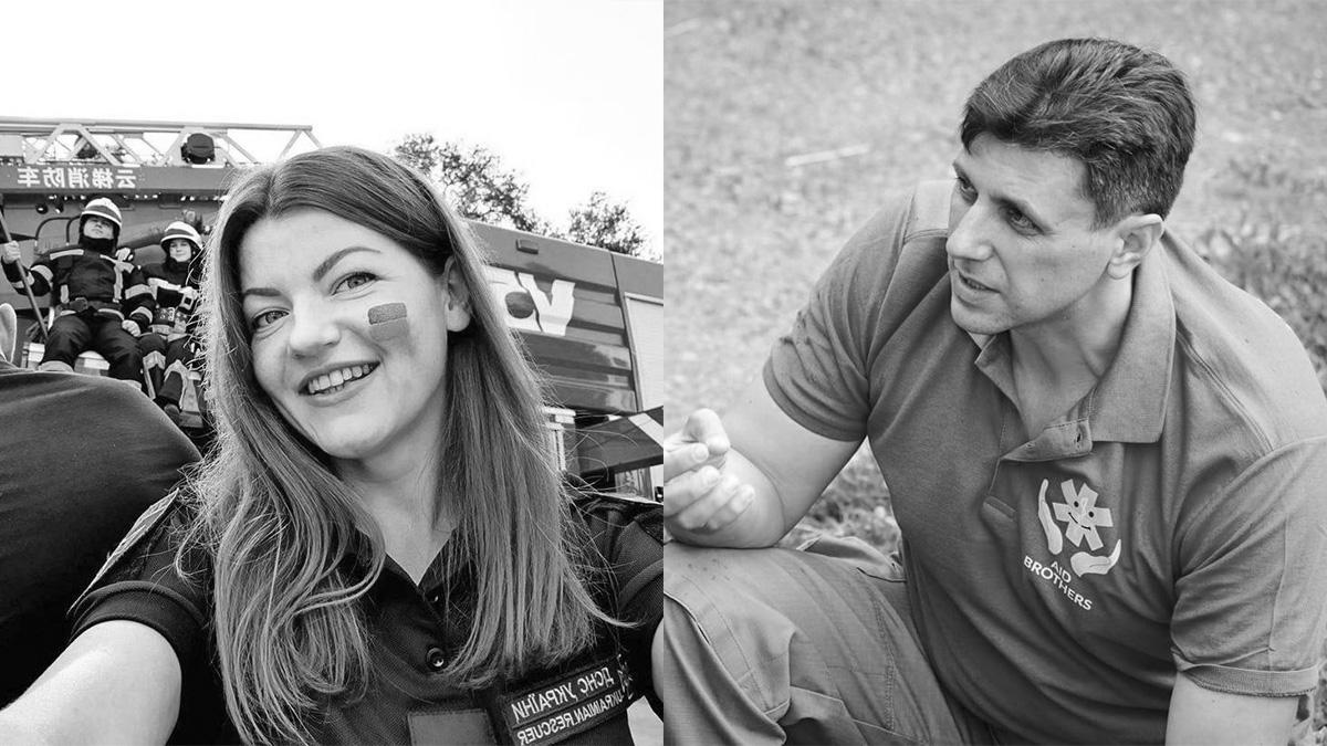 В Днепре во время взрыва авто погибли пресс-секретарь ГСЧС Дарья Гречищева и инструктор Алексей Кавлак