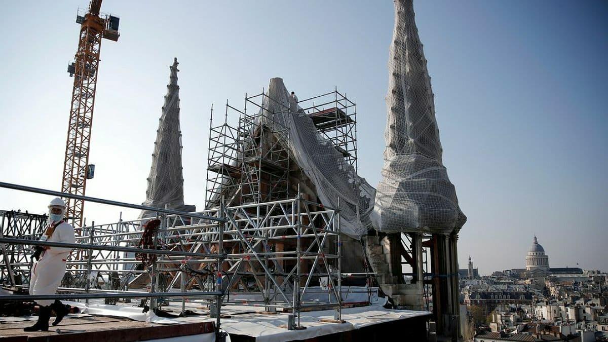 У Нотр-Дамі завершилися технічні роботи: собор готовий до реставрації