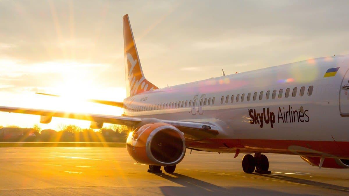 SkyUp в октябре полетит из Киева в Арабские Эмираты