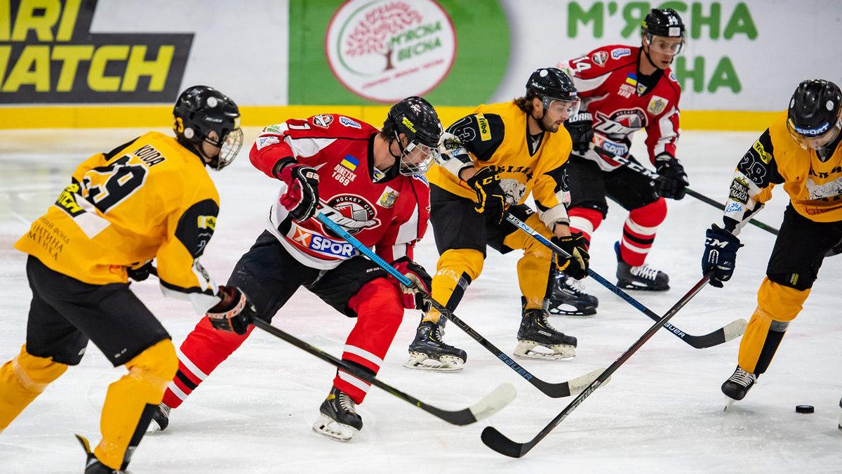 «Донбасс» и «Сокол» одержали победы в матчах второго тура Украинской хоккейной лиги
