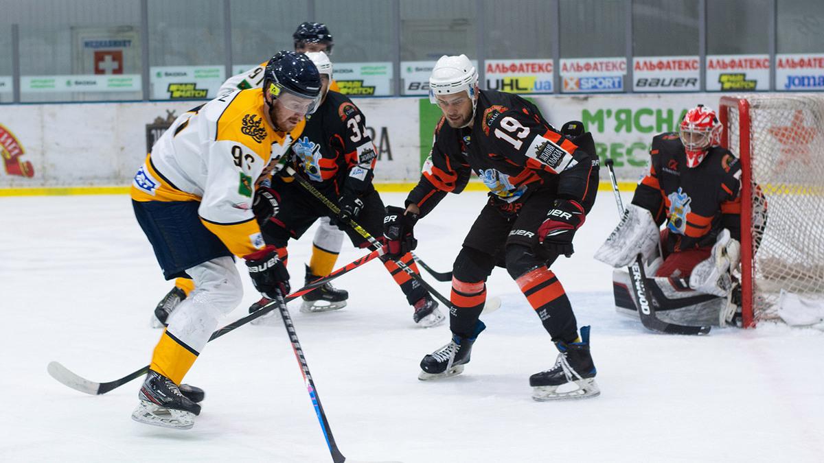 «Кременчук» разгромил дебютанта  Украинской хоккейной лиги «Рулав Одд»