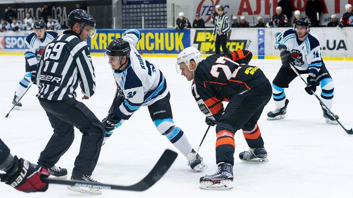 «Донбасс» и «Мариуполь» в третьем туре Украинской хоккейной лиги одержали выездные победы