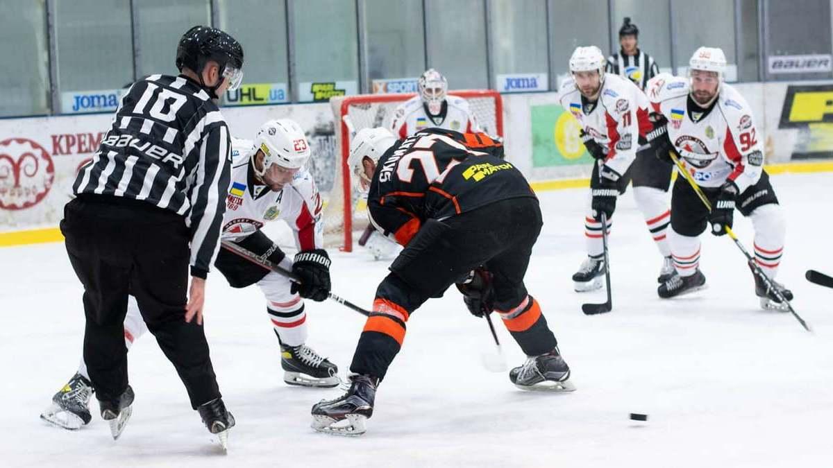 «Кременчук» виграв у «Донбасу» в центральному матчі четвертого туру Української хокейної ліги