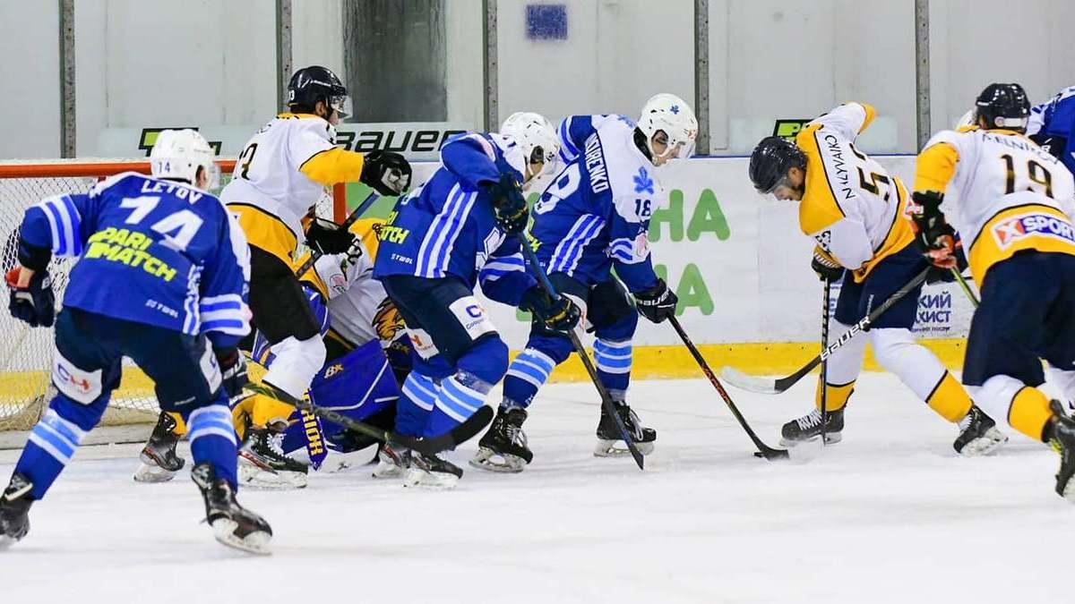 «Сокол» и «Краматорск» победами завершили четвёртый тур Украинской хоккейной лиги