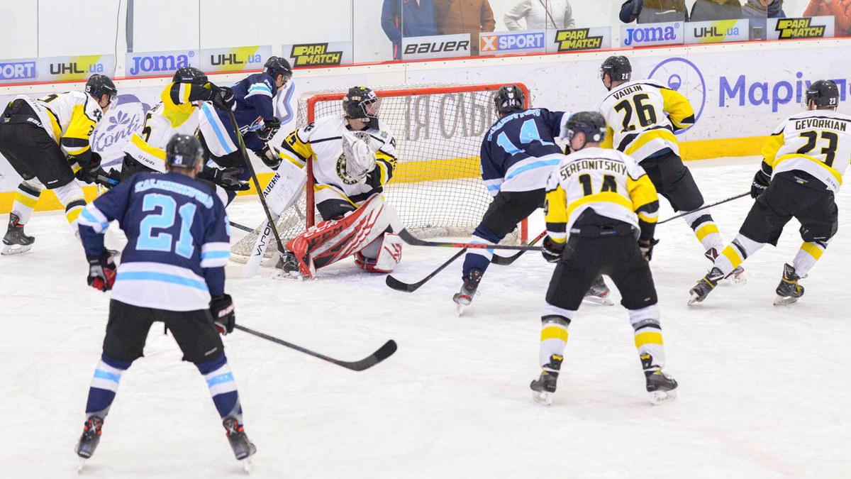 «Донбасс» и «Краматорск» обыграли соперников  в поединках пятого тура Украинской хоккейной лиги