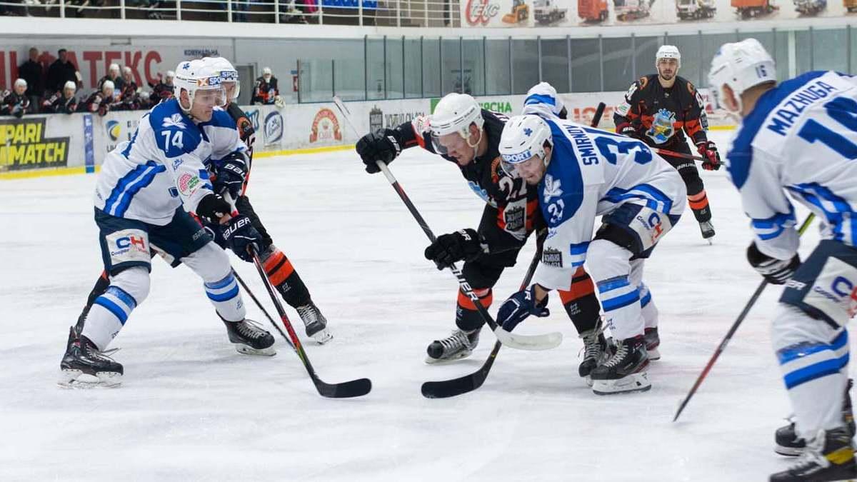 «Кременчук» уступил «Соколу», «Днепр»  выиграл битву аутсайдеров Украинской хоккейной лиги