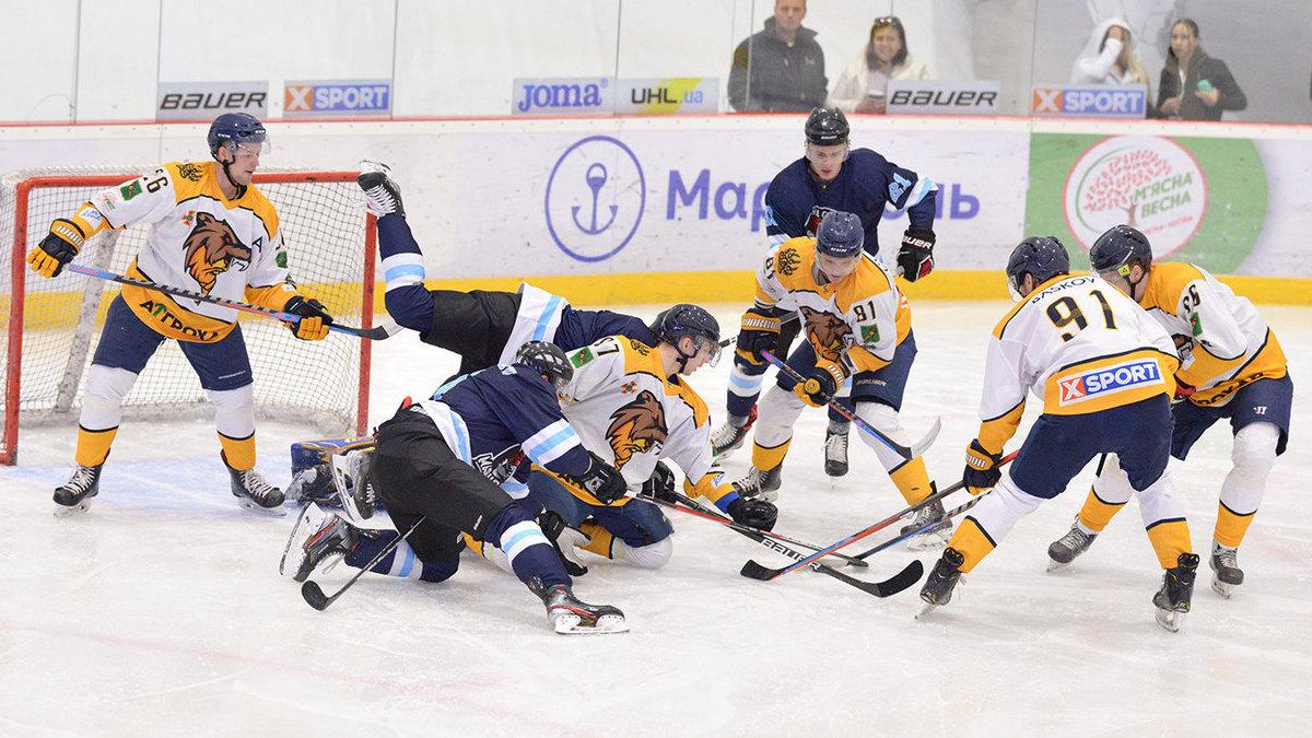 «Мариуполь» и «Донбасс» одержали победы в шестом туре Украинской хоккейной лиги