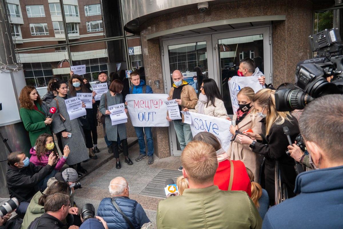 Нападение на журналистов: грозит ли тюрьма другу президента Зеленского Мецгеру